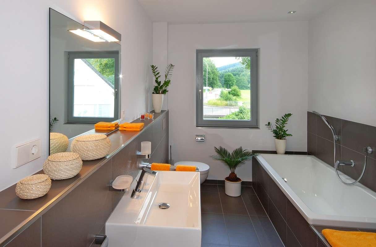 Moderner Sanitärbereich