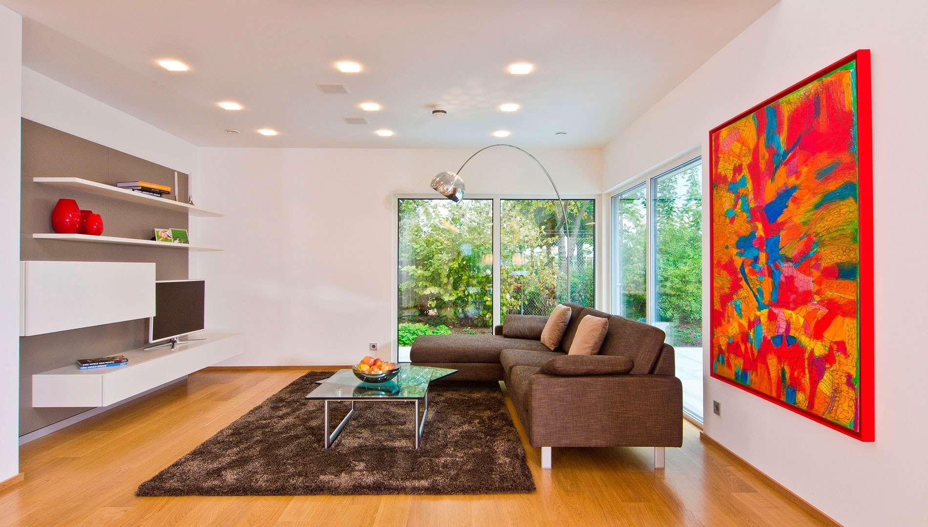 Musterhaus FUTURE Mannheim - Wohnzimmer