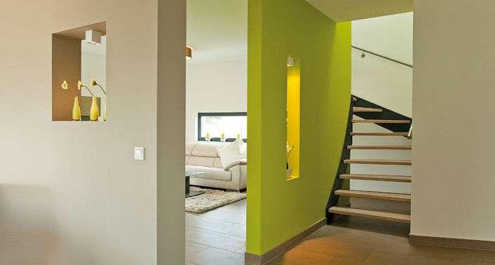 <p><strong>Modernes Haus in klassischer Form</strong></p>