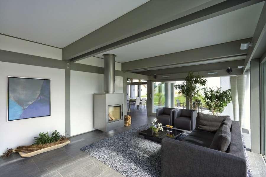 Musterhaus inneneinrichtung wohnzimmer  HUF HAUS - Musterhaus ART 4 Nürnberg
