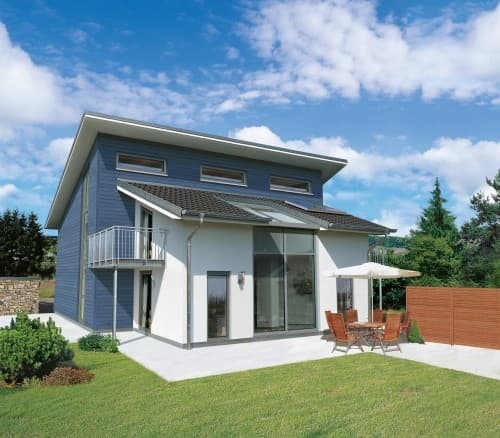 STREIF Einfamilienhaus mit Pultdach