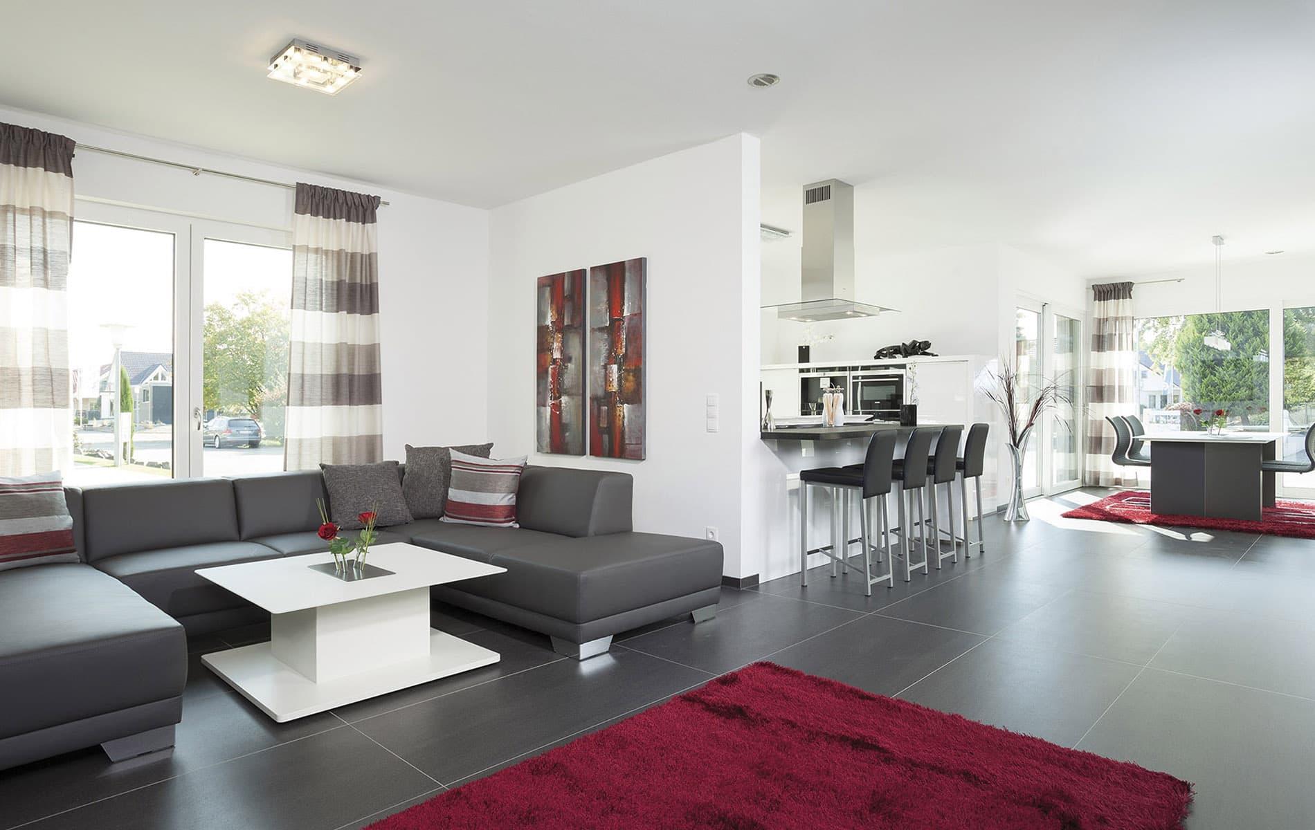 Offenen Wohnraumgestaltung