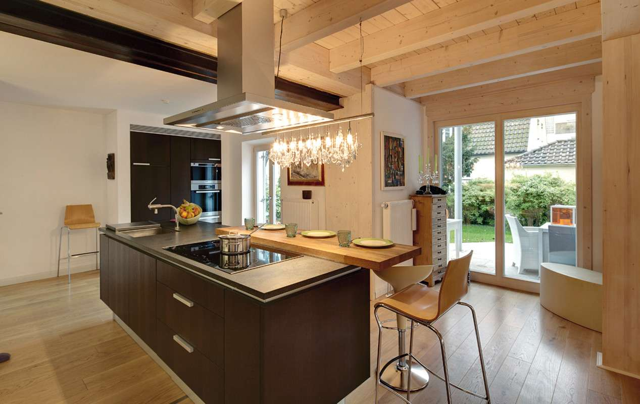 Moderne Kochinsel