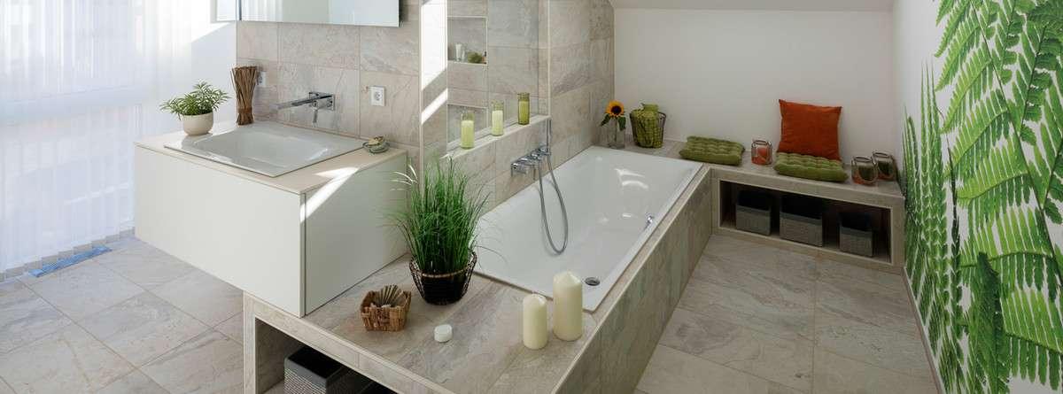 Wellness auch zuhause im Badezimmer - Lifestyle - Magazin ...