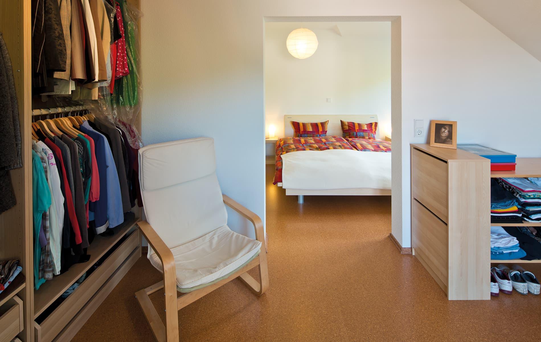 VIO 300 - Schlafzimmer und Ankleideraum