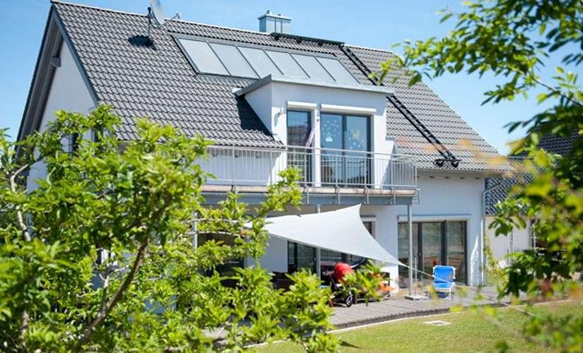 Ihr ADLERHAUS mit KLIMAplus-Ausstattung.  In diesem Rundum-Sorglos- Haus gehört höchste Ausstattungs-Qualität zum Standard.