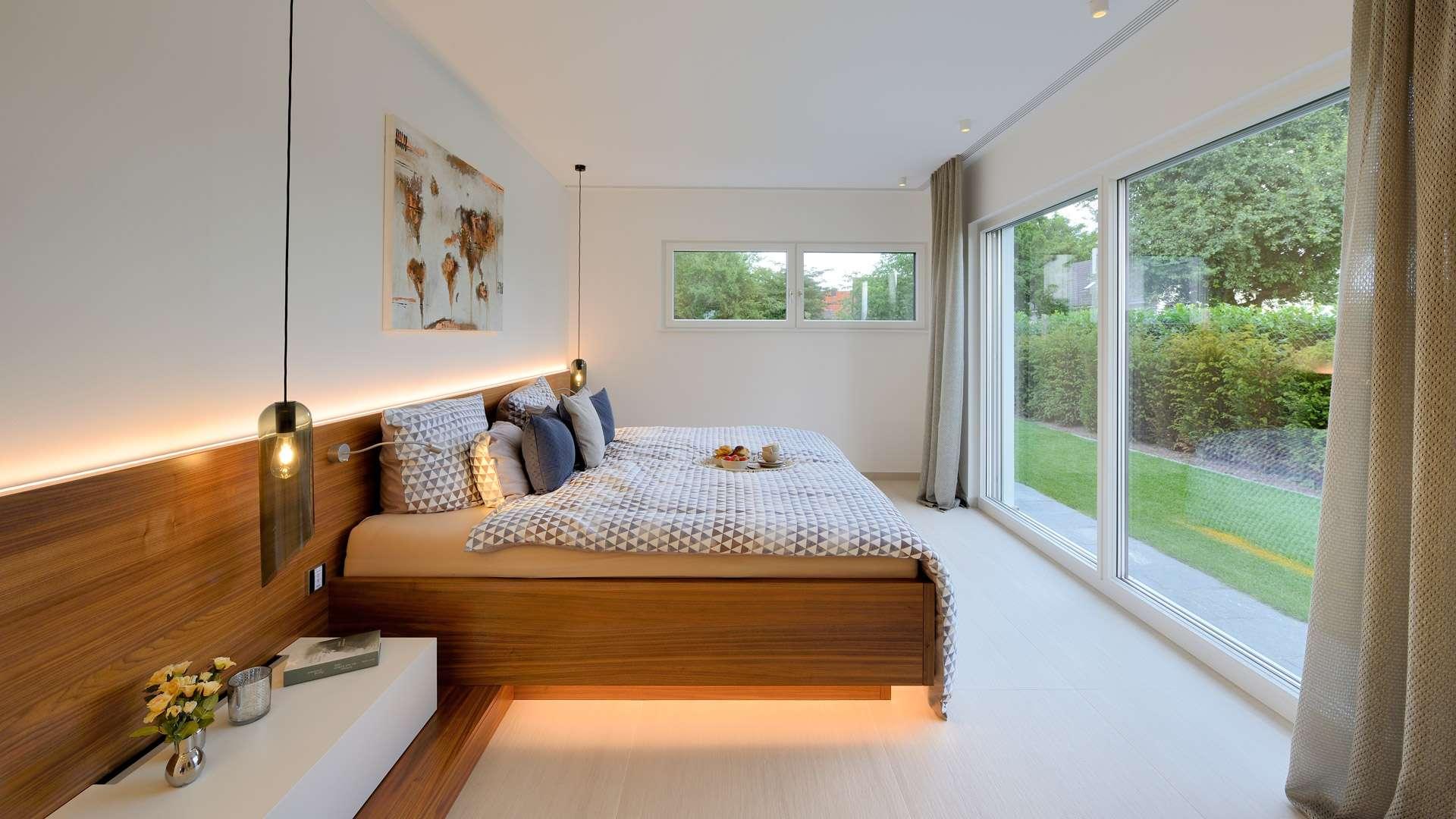 schlafzimmer wenig einrichtung guter schlaf