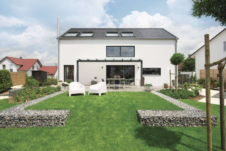 individuell geplantes weberhaus weberhaus anbieter. Black Bedroom Furniture Sets. Home Design Ideas
