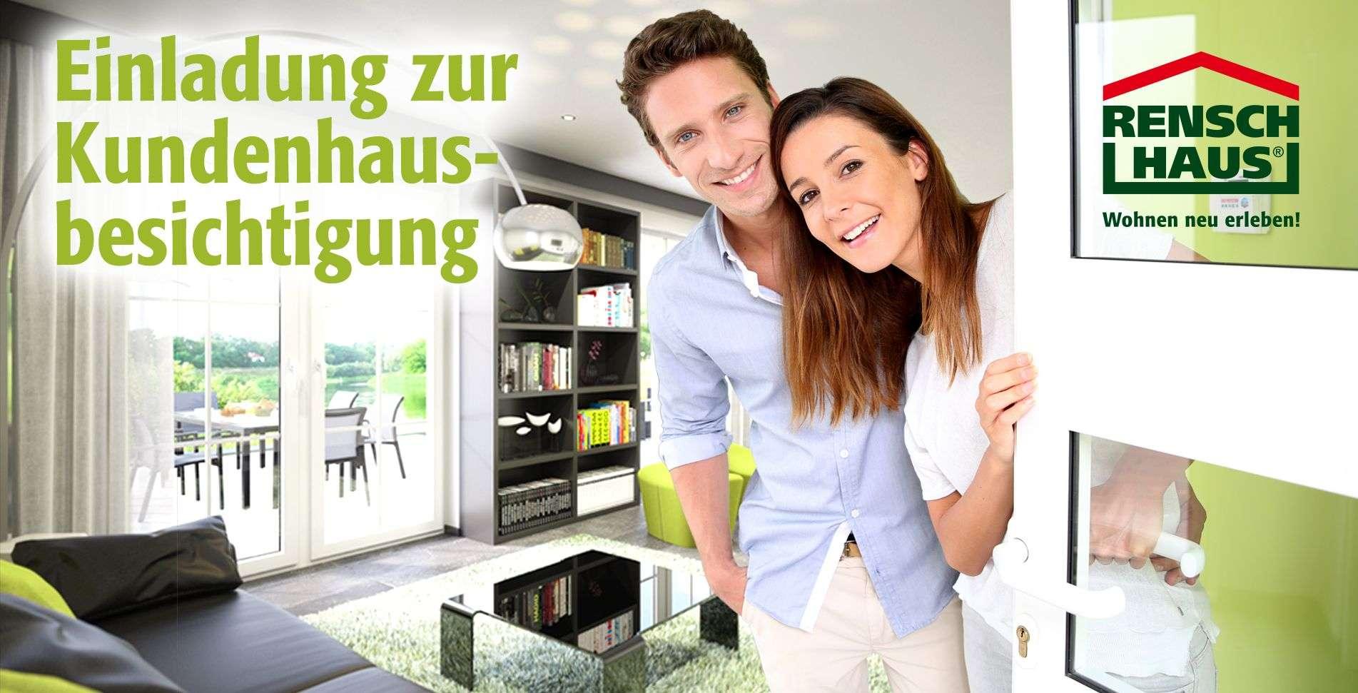 rensch haus gmbh kundenhausbesichtigung in 56237 wittgert. Black Bedroom Furniture Sets. Home Design Ideas
