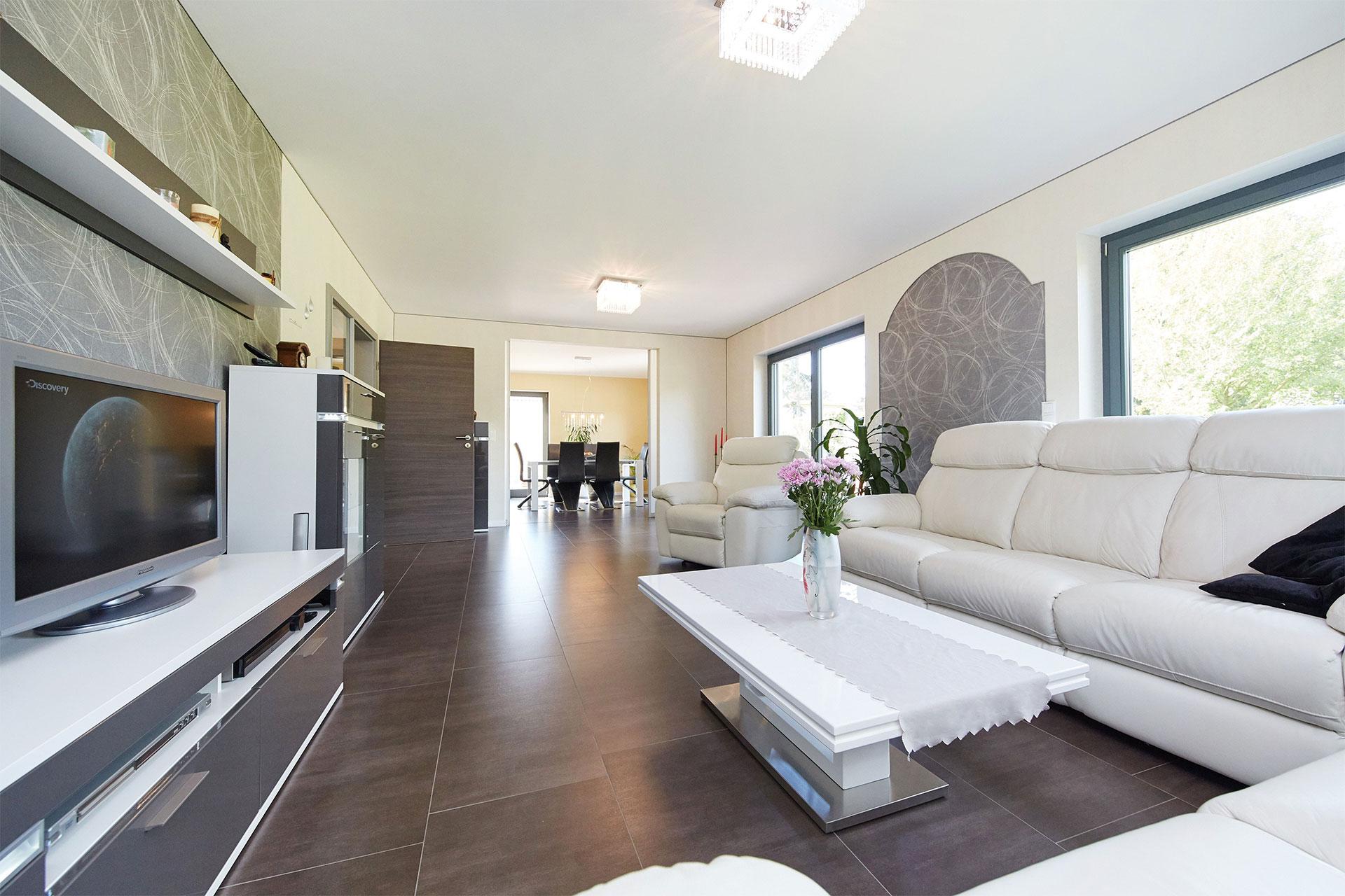 Wohnzimmer Dresden Gussek Haus Musterhaus Melanie In