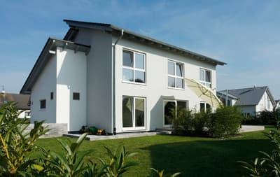 Partner Haus Architektenhaus Pultdach