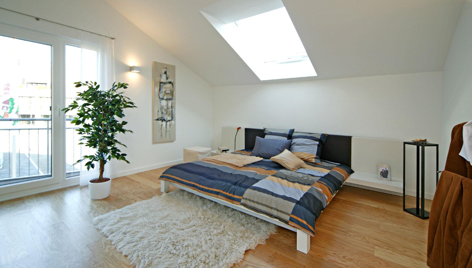 Musterhaus Villingen-Schwenningen - Schlafzimmer