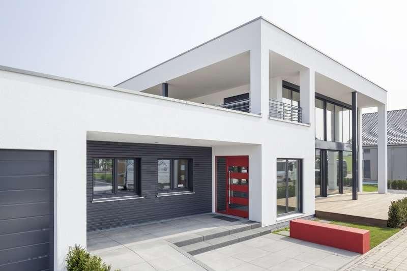 luxhaus musterhaus k ln fertighaus von luxhaus. Black Bedroom Furniture Sets. Home Design Ideas