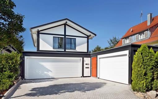 Eine Garage aus Holz bietet viele Vorteile gegenüber alternativen Lösungen.