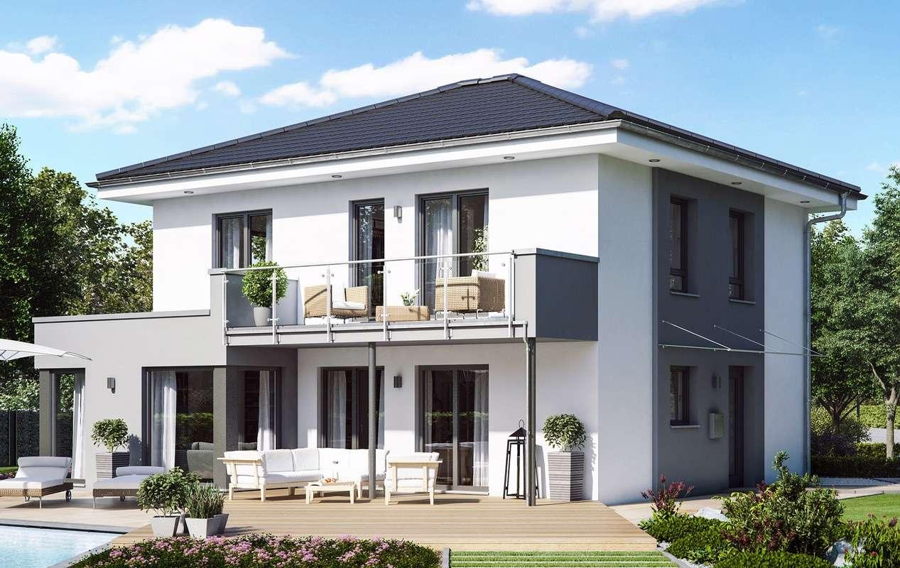 <p><strong>Traumhaus mit </strong><strong>Übereckerker mit Freisitz und Balkon</strong></p>