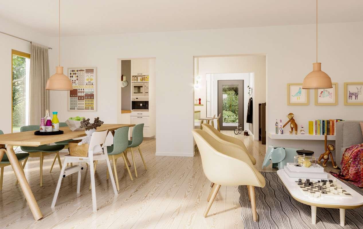Living haus solution 242 v6 living fertighaus for Badezimmer 94 spiel