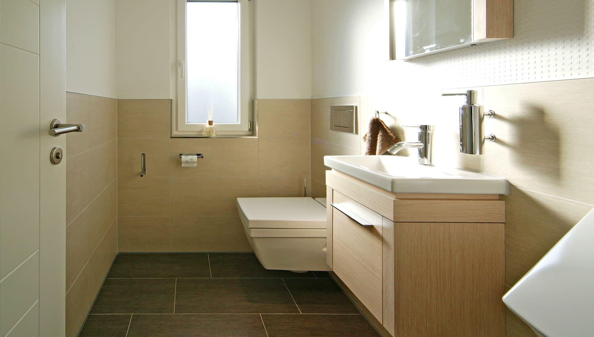 Musterhaus Villingen-Schwenningen - Gäste-WC