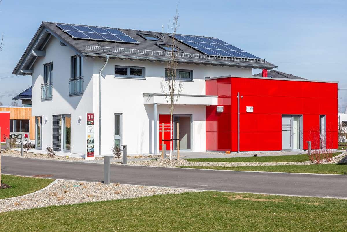 Okal musterhaus g nzburg mehrgenerationenhaus for Mehrgenerationenhaus bauen