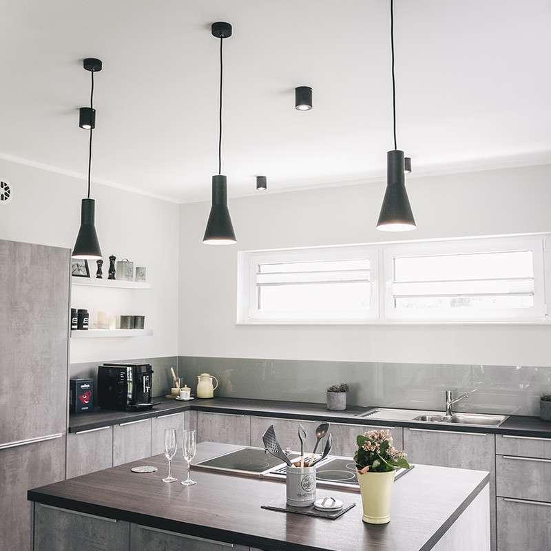 Küche mit praktischer Kochzeile