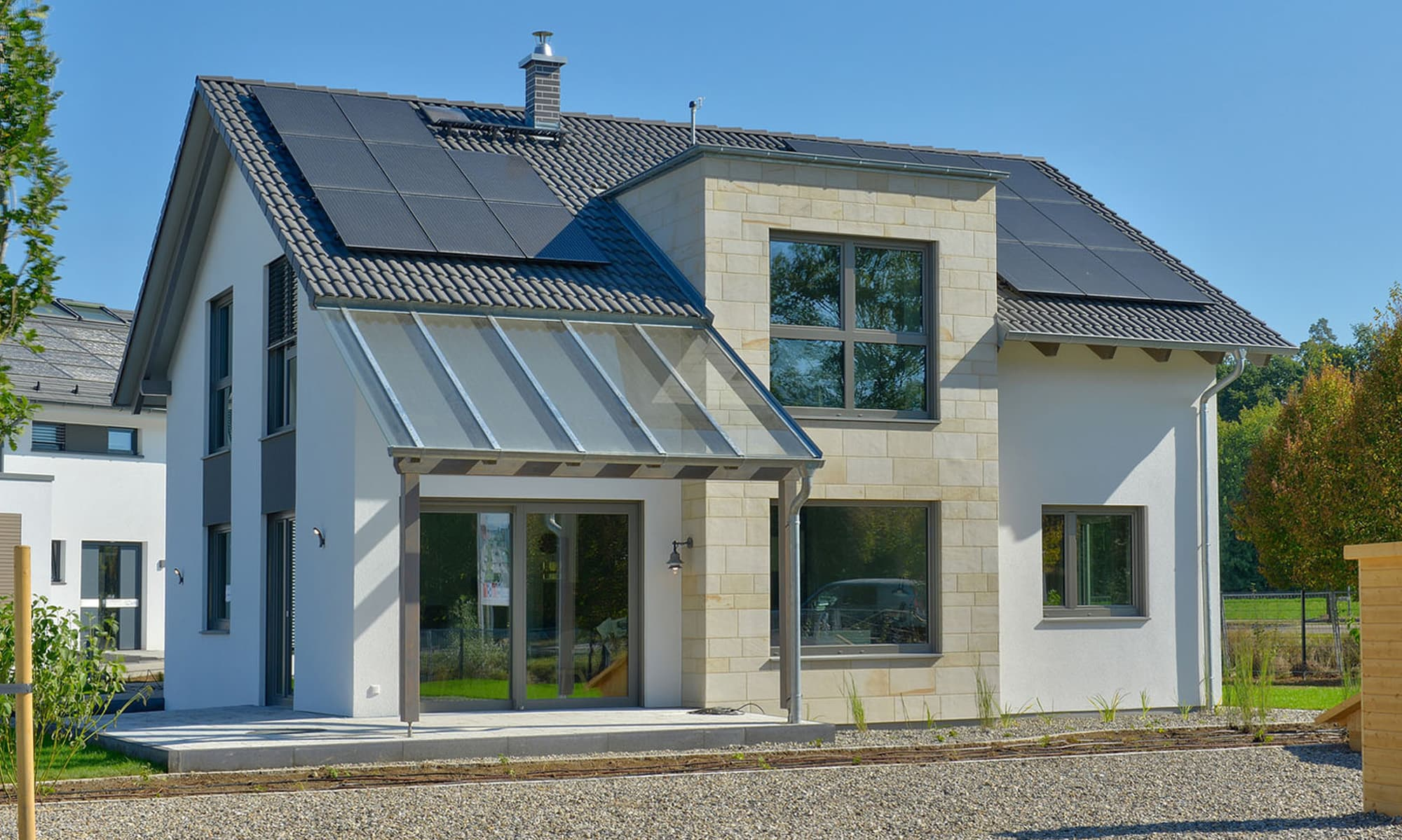 hanse haus musterhaus variant 35 173 in g nzburg. Black Bedroom Furniture Sets. Home Design Ideas
