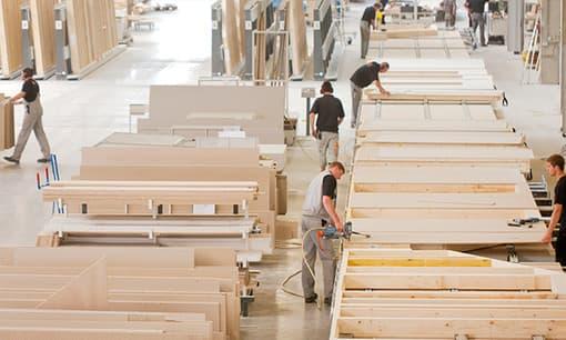 Modernste Fertighausproduktion - Finger-Häuser sind ein Qualitätsprodukt und »Made in Germany«
