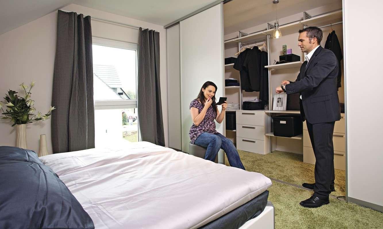 Beispiel modernes Schlafzimmer