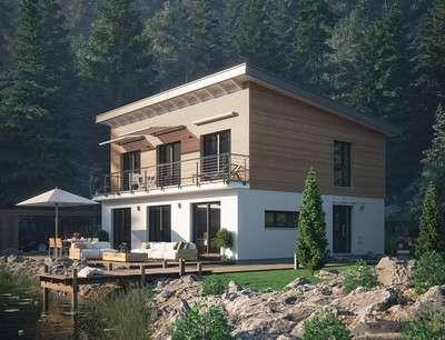 Schwörer Haus - Landhaus mit Pultdach