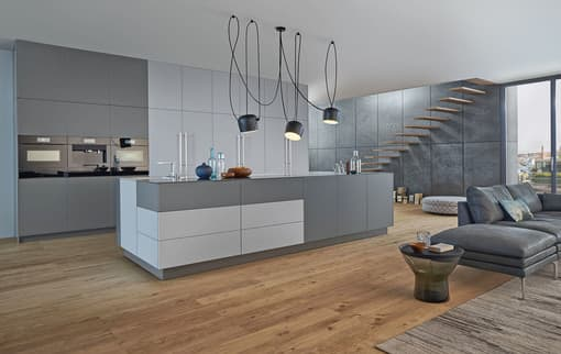 individuelle vielfalt und smarte technik in der k che. Black Bedroom Furniture Sets. Home Design Ideas