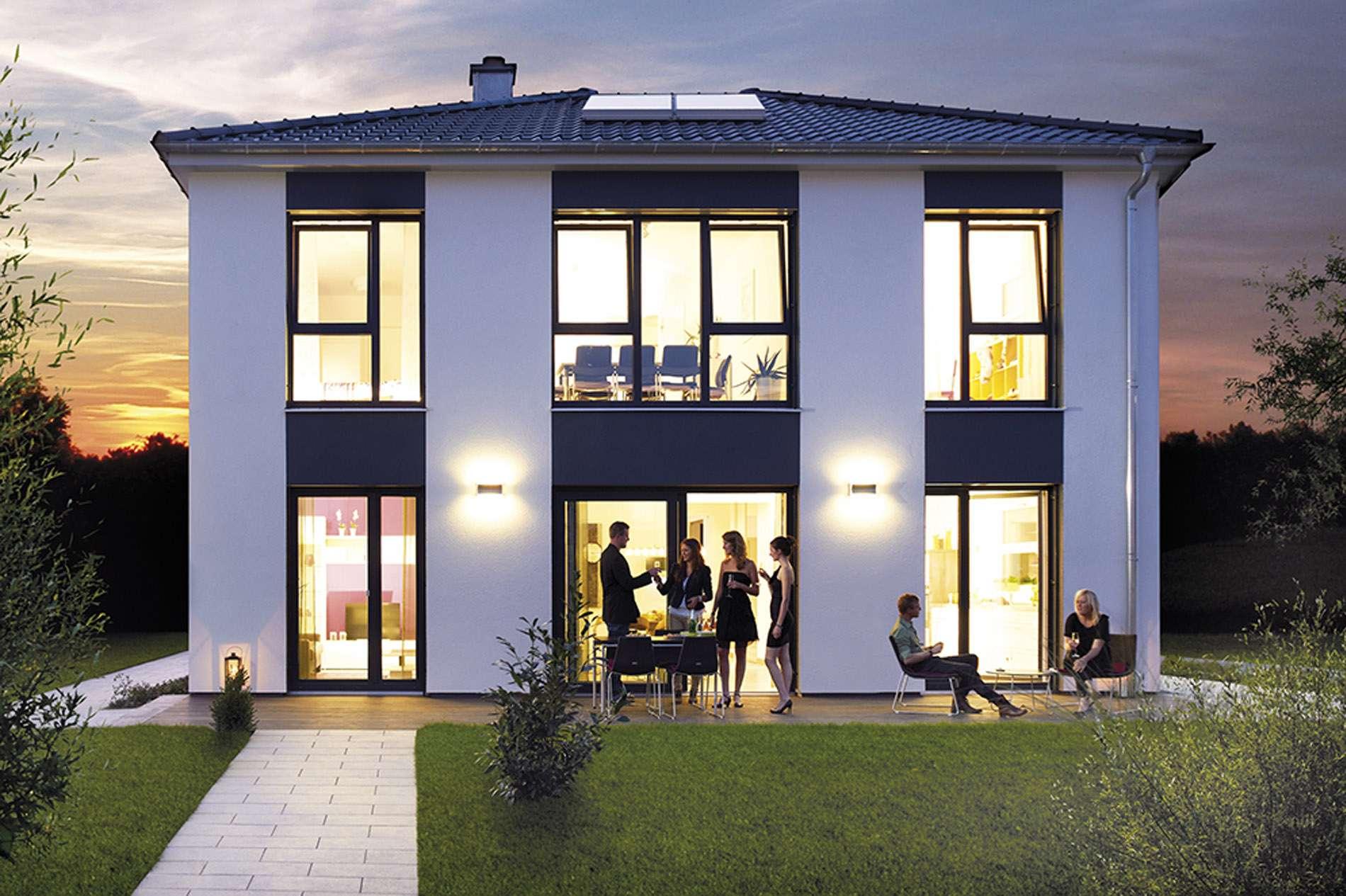 hanse haus musterhaus 39 villa 165 39 in k ln. Black Bedroom Furniture Sets. Home Design Ideas