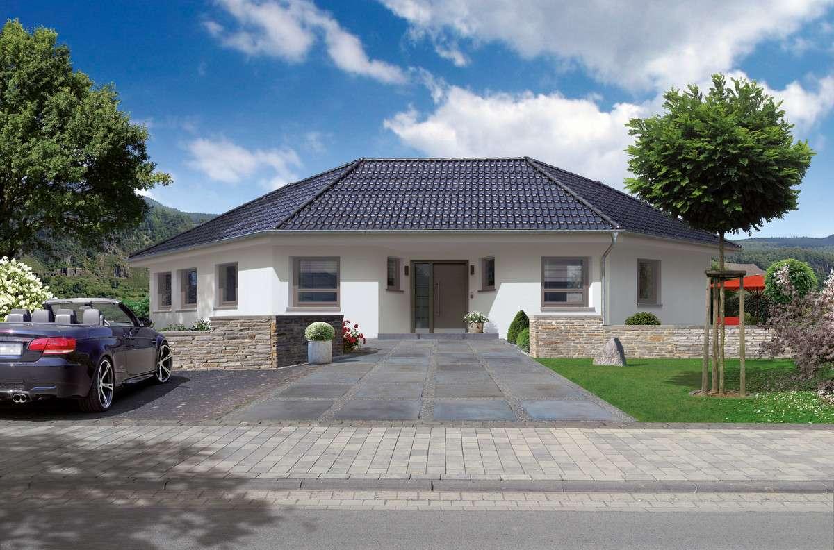 streif haus klassischer bungalow neu interpretiert. Black Bedroom Furniture Sets. Home Design Ideas