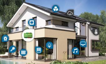 Entdecken Sie die unglaublichen Möglichkeiten der Heimvernetzung. Automatisieren Sie Routineaufgaben, steuern Sie Ihr vernetztes Haus von unterwegs und lassen Sie Ihr Zuhause auf sich selbst aufpassen.