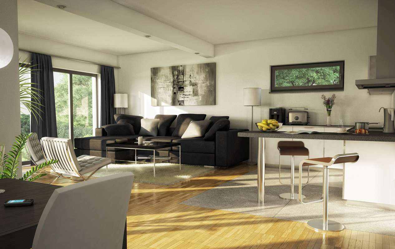 Wohnzimmer - Dekoration für Herren