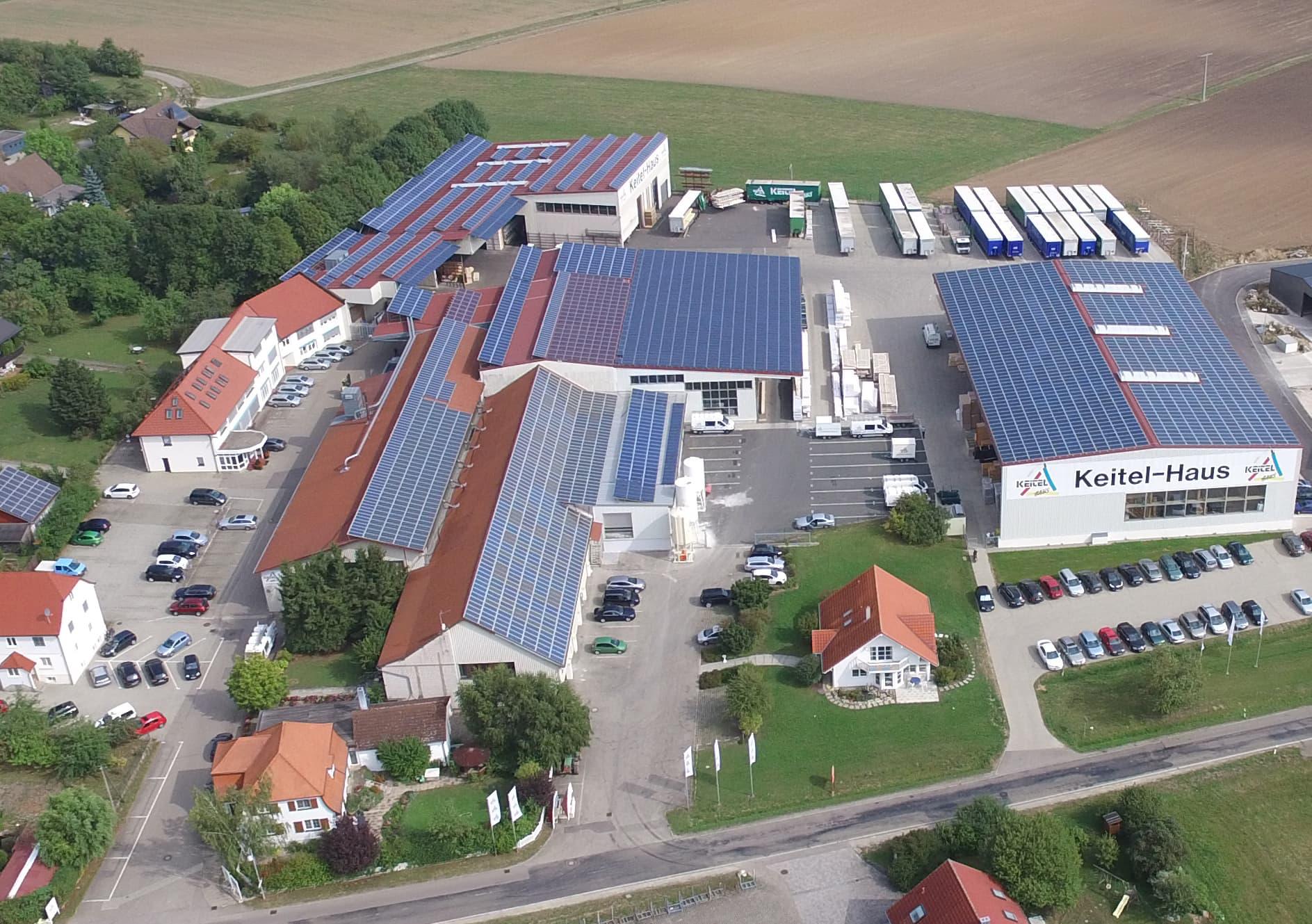 Keitel-Haus Firmengelände in Rot am See - Brettheim