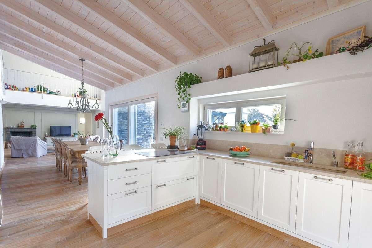 Best Holzbalken Decke Interieur Modern Contemporary - Interior ...