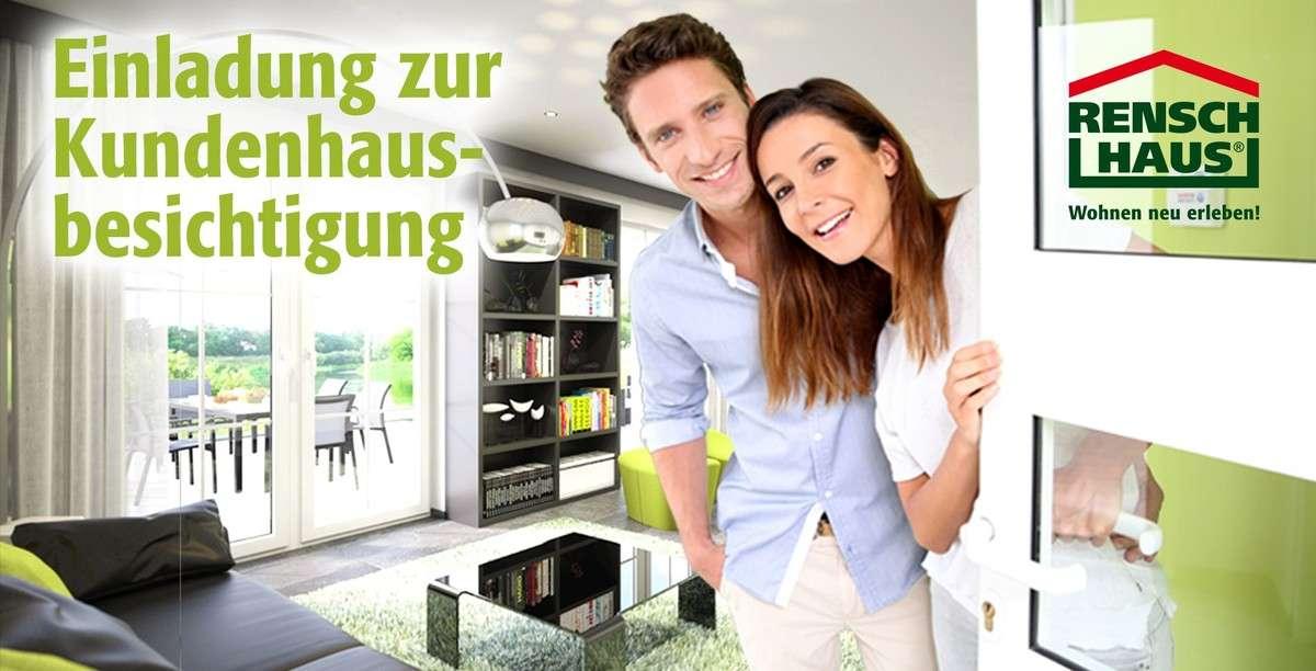 rensch haus gmbh kundenhausbesichtigung in 72160 horb m hringen. Black Bedroom Furniture Sets. Home Design Ideas
