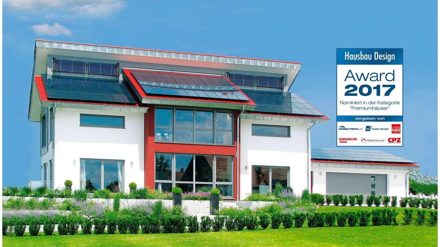 Nominiert für den Hausbau Design Award in der Kategorie Premiumhäuser - Haus Style