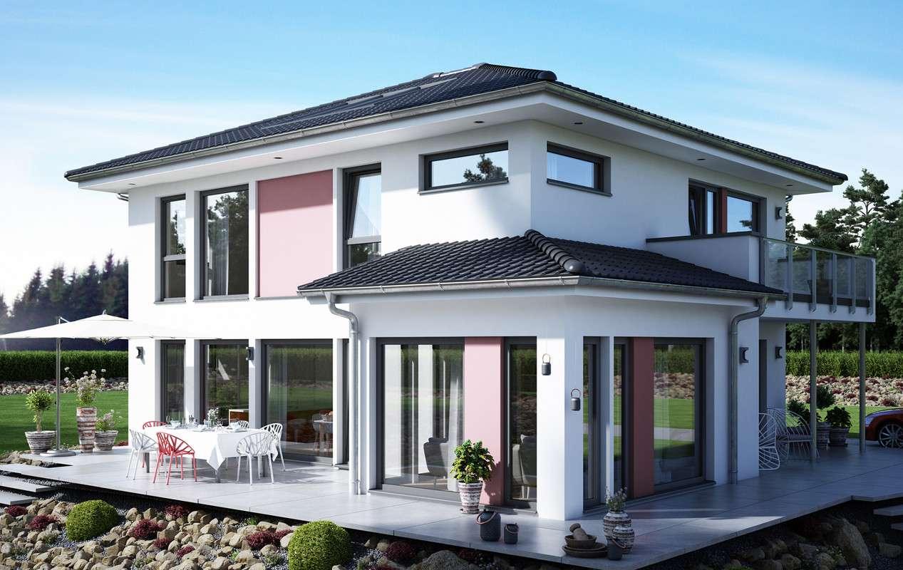 <p><strong>Großzügiges Jubiläums-Aktionshaus mit Übereck-Erker und Balkon</strong></p>
