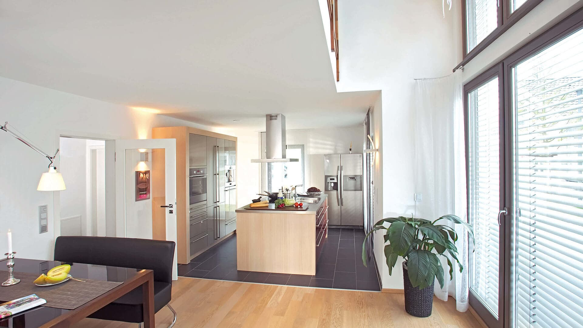Musterhaus Erlangen Küche/Esszimmer
