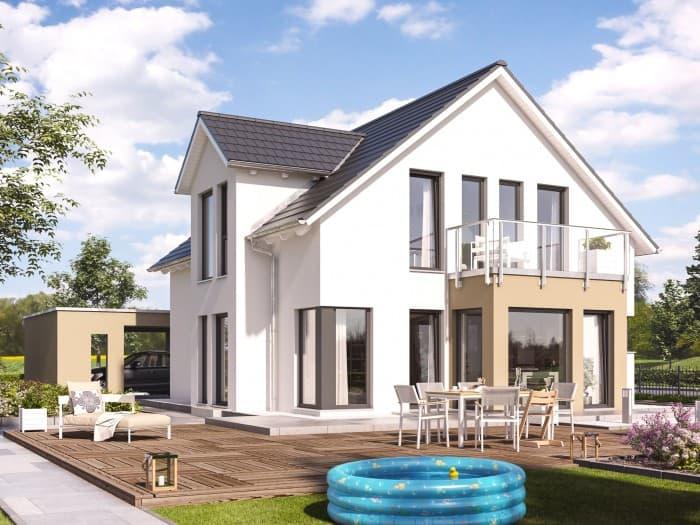 living haus solution 134 v10 living fertighaus anbieter. Black Bedroom Furniture Sets. Home Design Ideas
