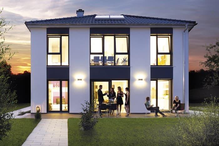 hanse musterhaus 39 villa 207 39 in hannover. Black Bedroom Furniture Sets. Home Design Ideas