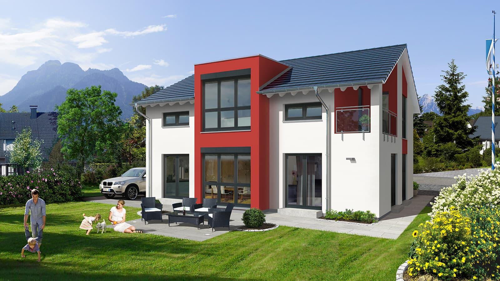 allkauf haus musterhaus prestige 2 v2 in m nchen poing. Black Bedroom Furniture Sets. Home Design Ideas