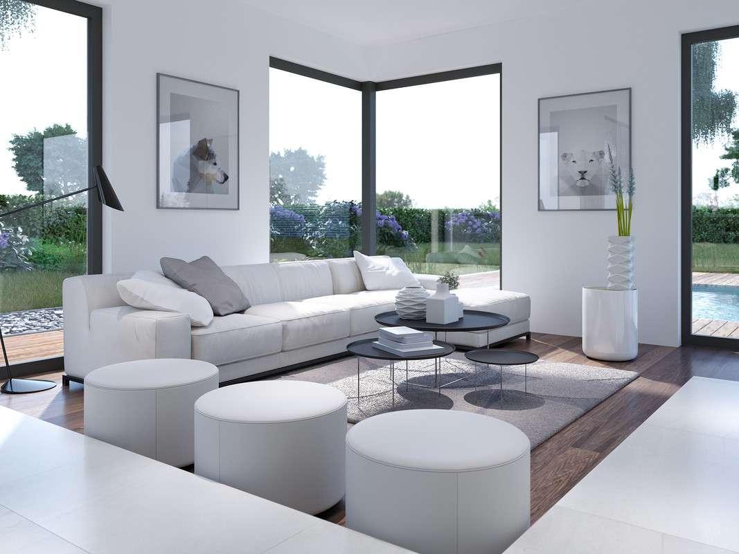 """<p><strong>Repräsentatives Einfamilienhaus inspiriert vom Dreiklang """"Licht, Luft, Leben""""</strong></p>"""