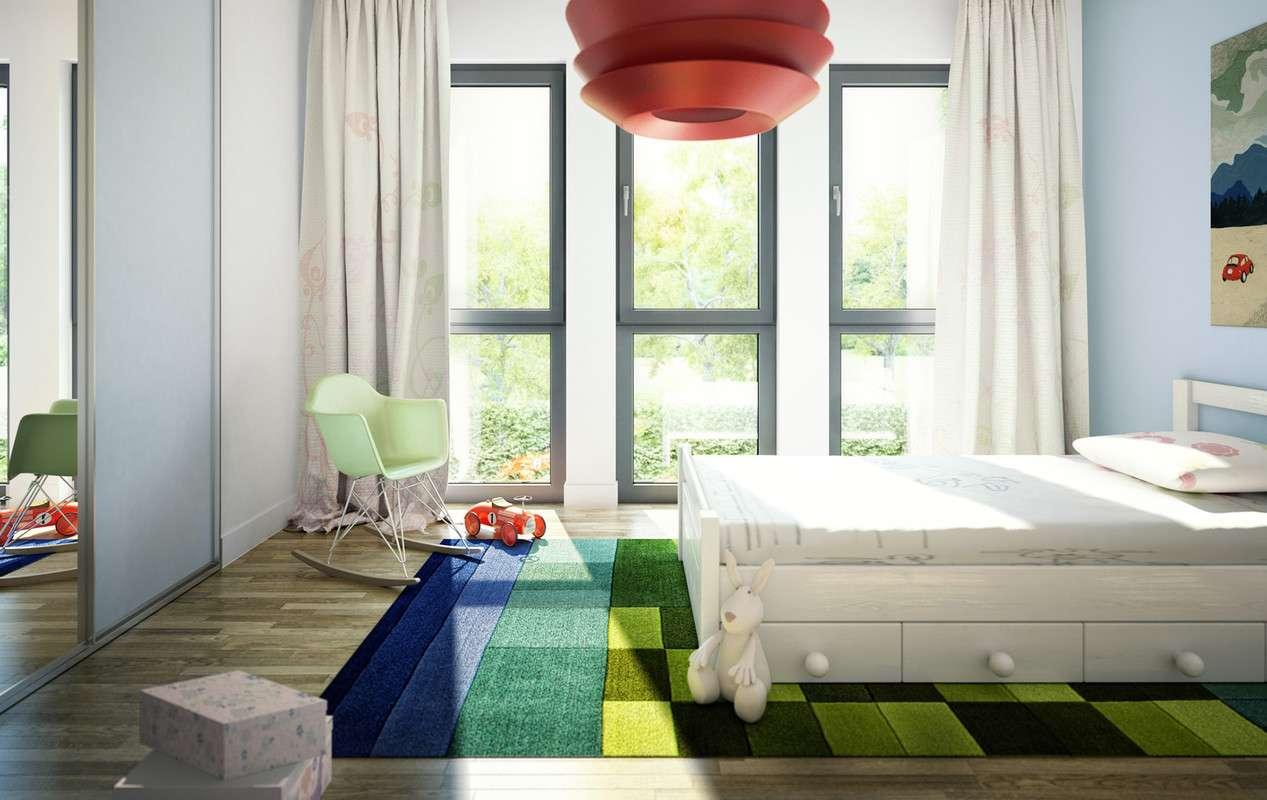 <p><strong>Elegantes Zweifamilienhaus mit Satteldach-Querhaus und Giebelerker mit Balkon</strong></p>