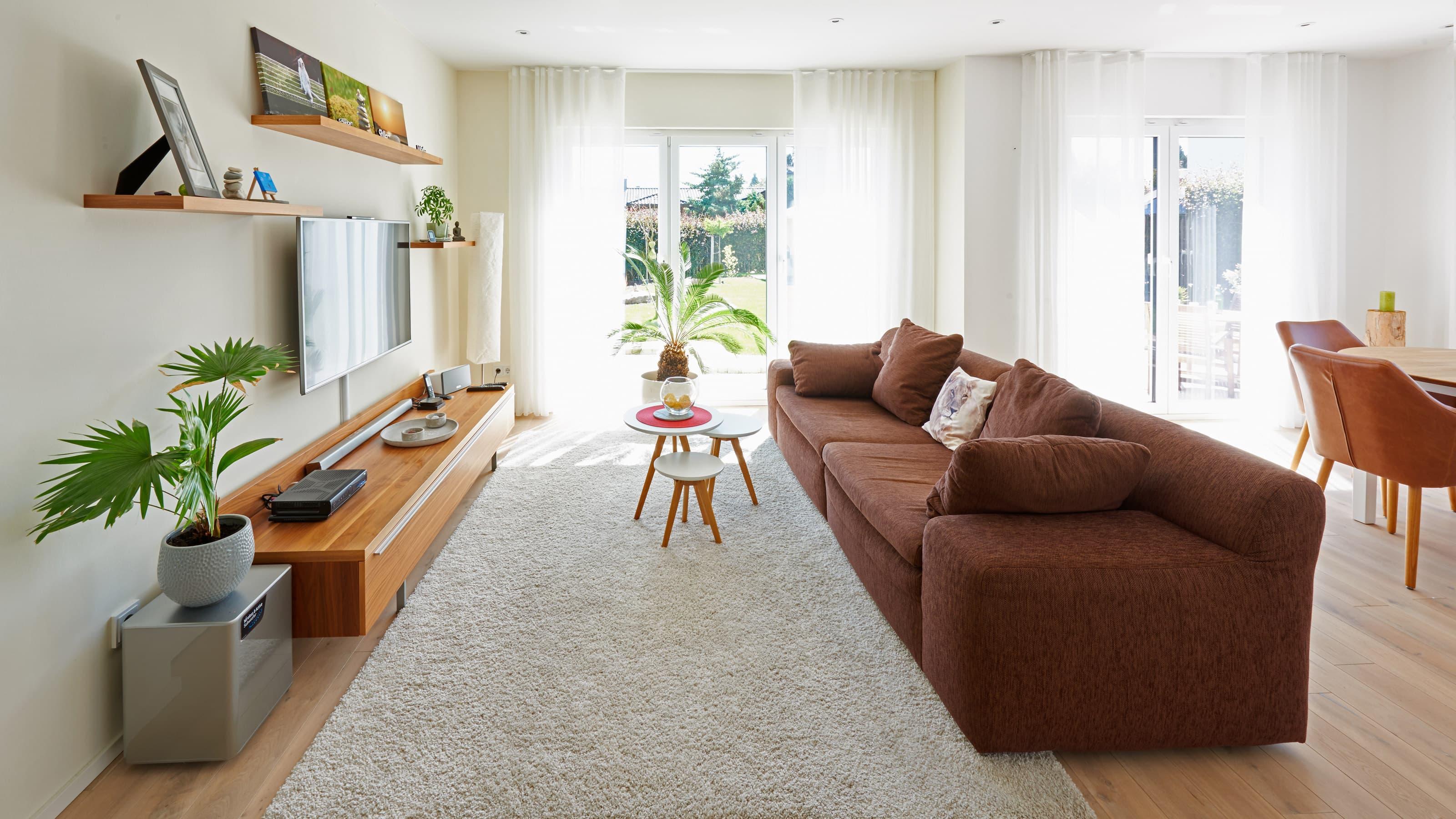 Fingerhut Haus R 100.10 Wohnzimmer