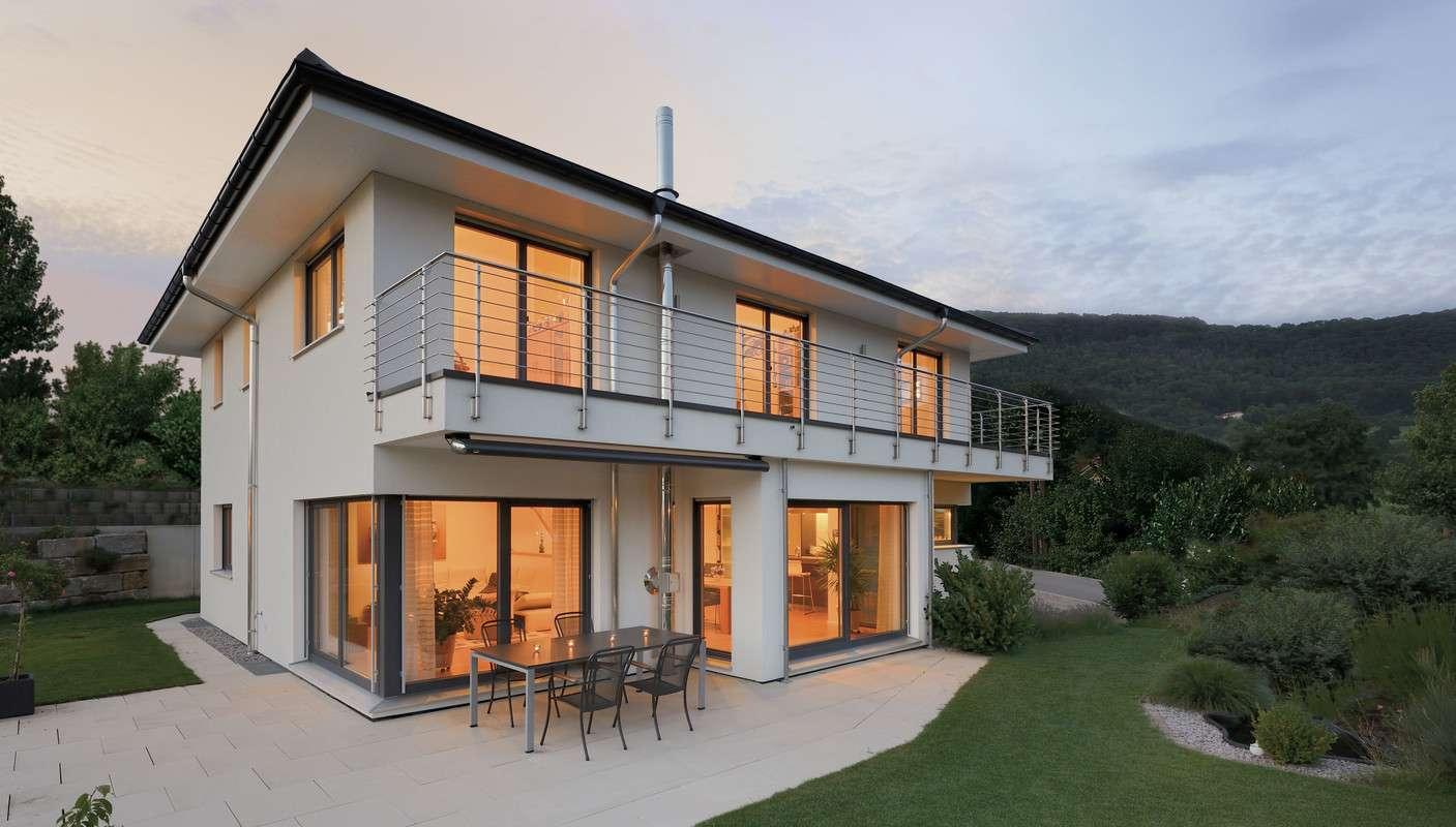 Ob Landhaus oder Bauhaus, traditionell oder modern, der Kreativität sind keine Grenzen gesetzt.