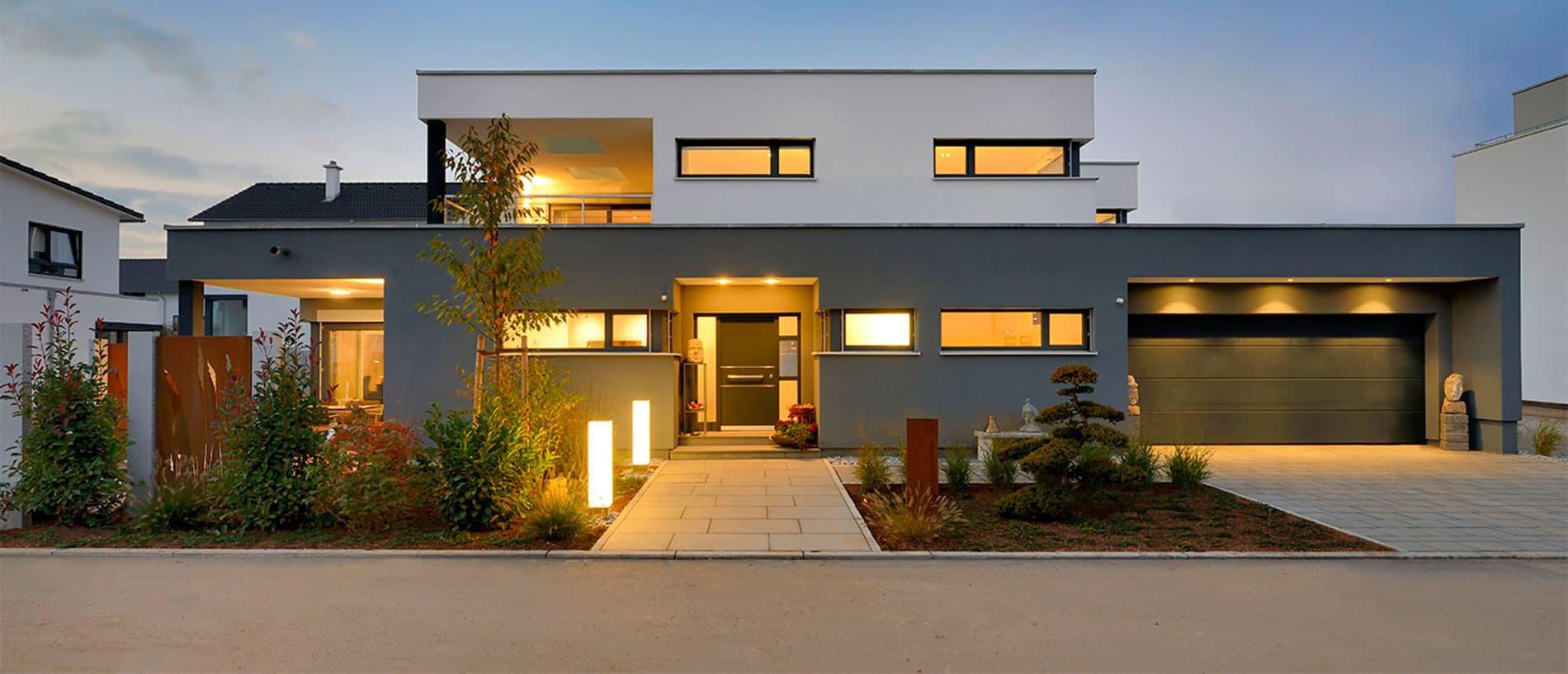 Hausbau ideen inspirationen f r ihr individuelles zuhause for Raumgestaltung stein dresden