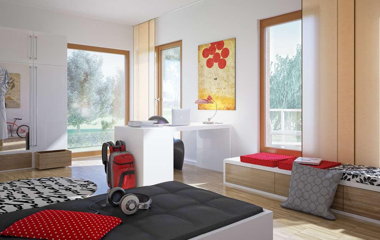 Modernes Jugendzimmer