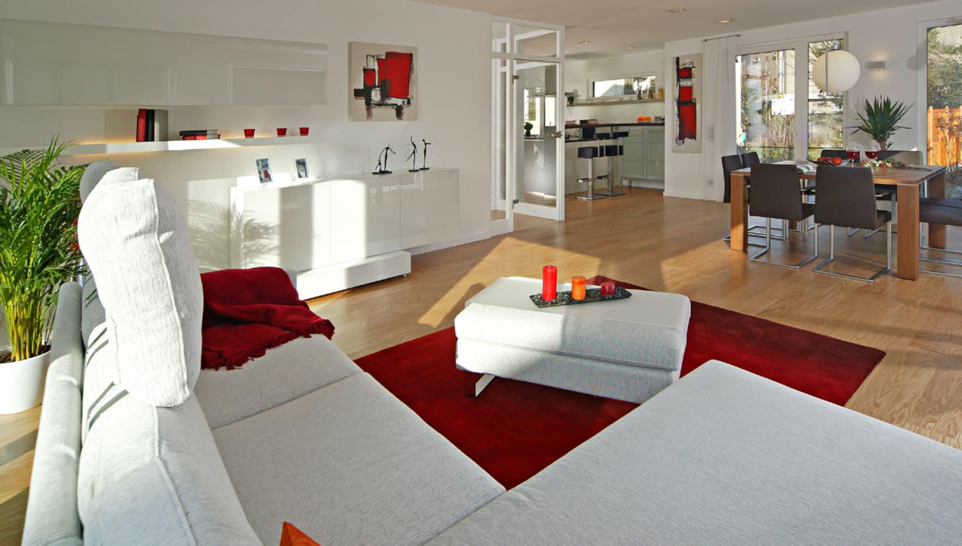 Musterhaus Villingen-Schwenningen - Wohnzimmer