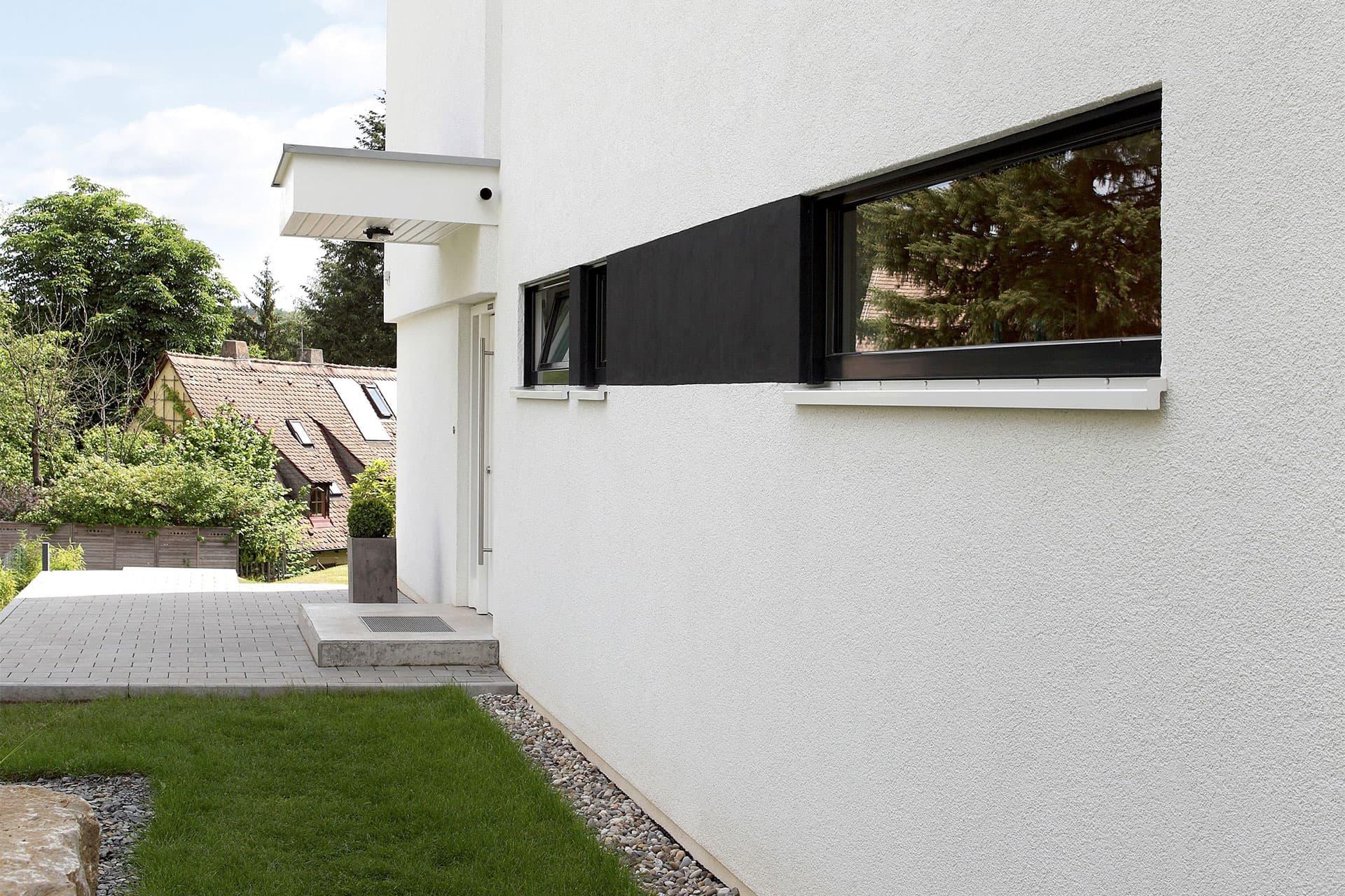 Moderne fensterformate  GUSSEK HAUS - Einfamilienhaus Modell