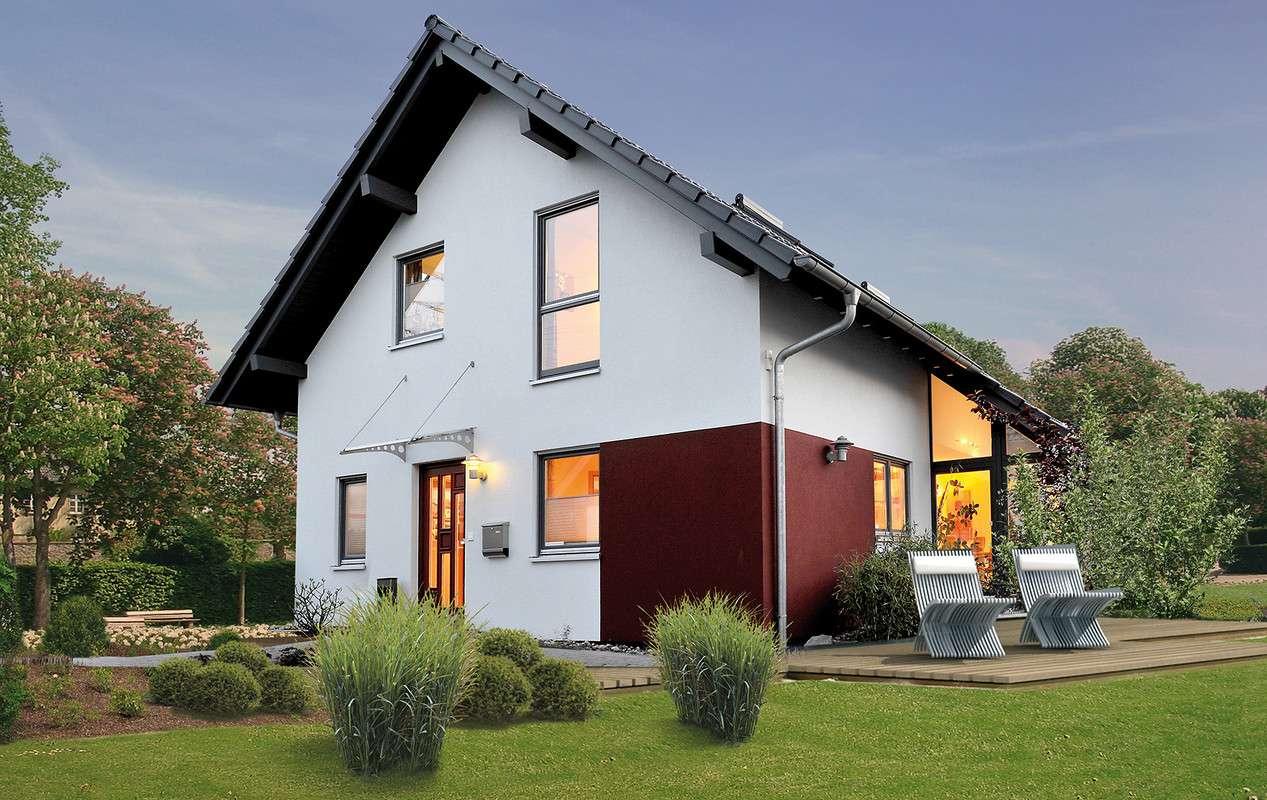 FLAIR - Offenburg - Außenansicht mit Terasse
